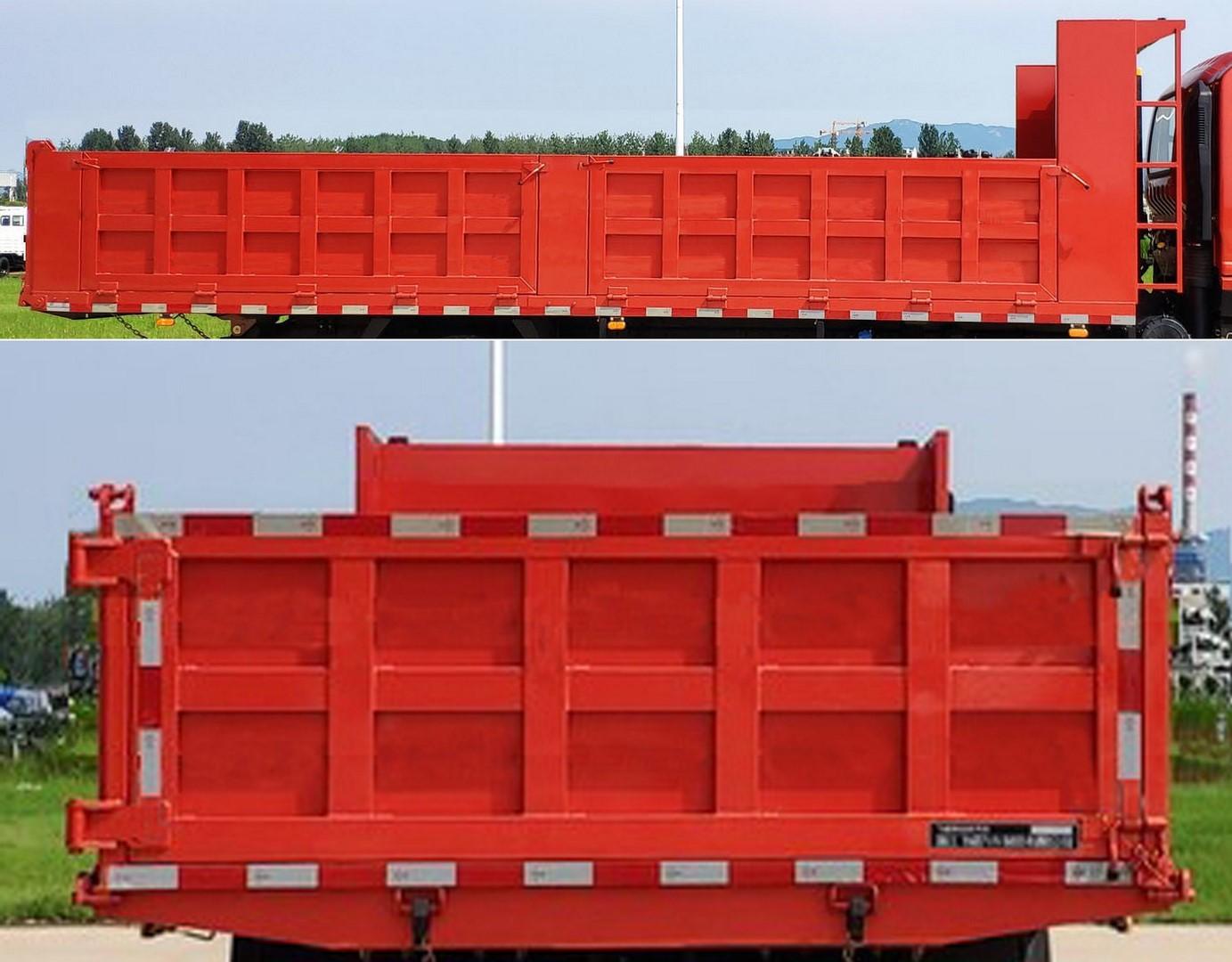 飞碟奥驰 X3系列 140马力 5.46米自卸车(FD3123MP8K4)口碑