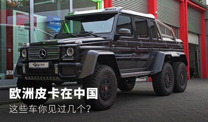 欧洲皮卡在中国,这些车你见过几个?