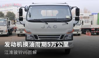 发动机换油周期5万公里 江淮骏铃V6图解