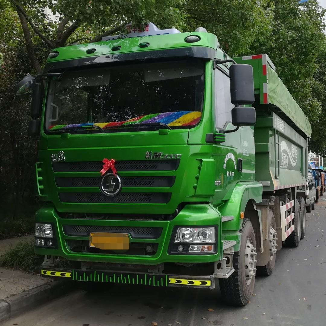 陕汽重卡 德龙新M3000 375马力 8X4 6.5米自卸车(SX3310MB326)口碑