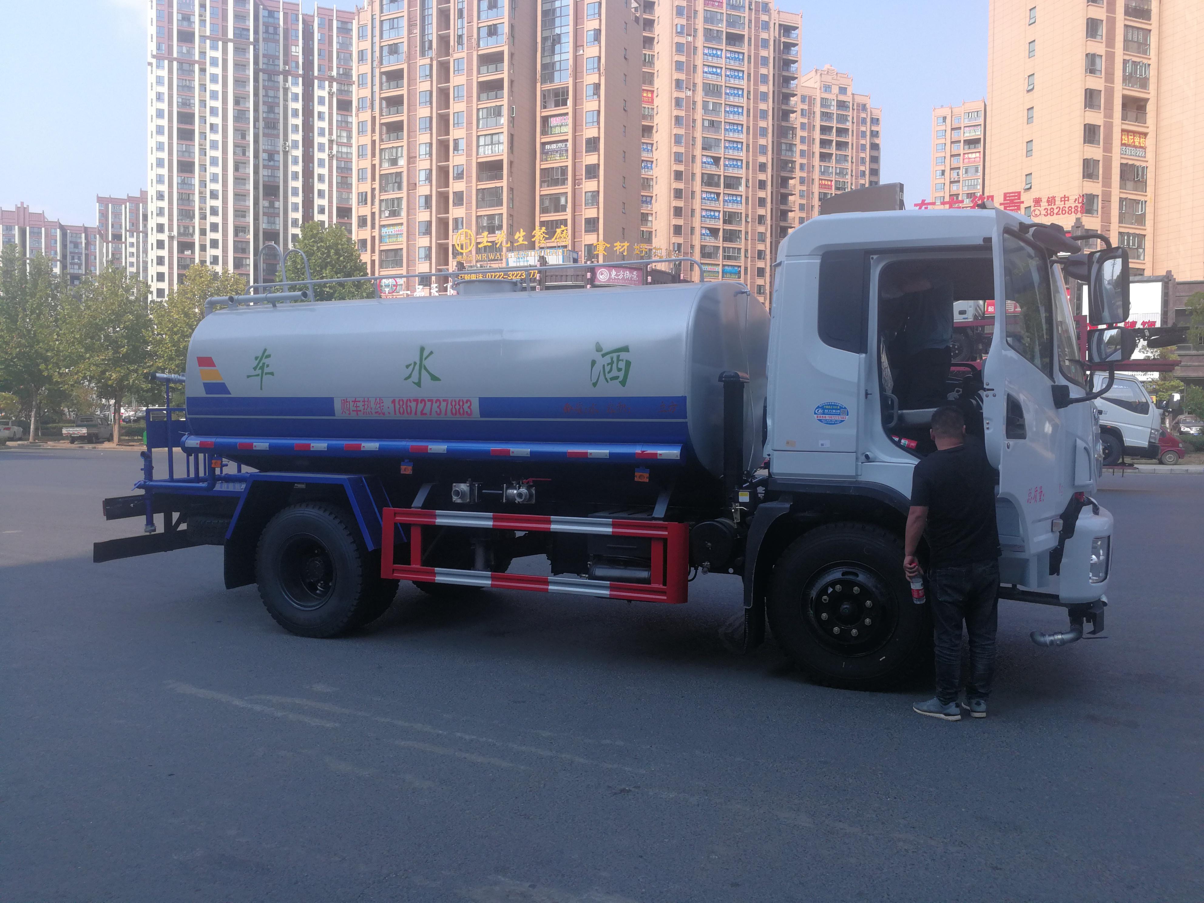 东风商用车 天锦 160马力 4X2 绿化喷洒车(程力威牌)(CLW5163GPSD5)口碑