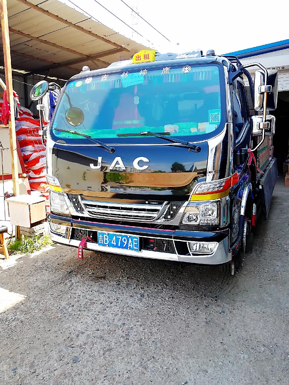 江淮 骏铃V6 163马力 4.18米单排仓栅式轻卡(国六)(HFC5042CCYP31K1C7S)口碑