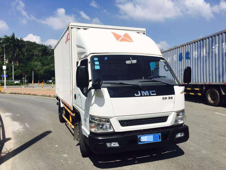 江铃 凯锐800L 152马力 4.08米单排厢式轻卡(JX5047XXYXGD2)口碑