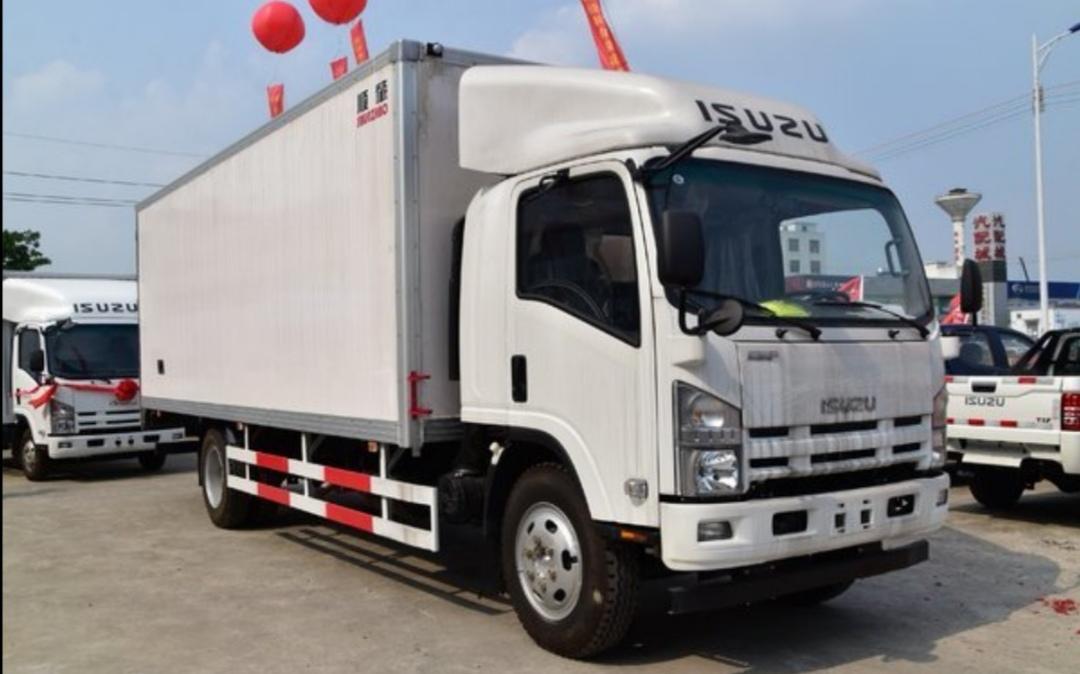庆铃 五十铃700P 189马力 5.585米单排厢式载货车(QL5110XXYANLA)口碑