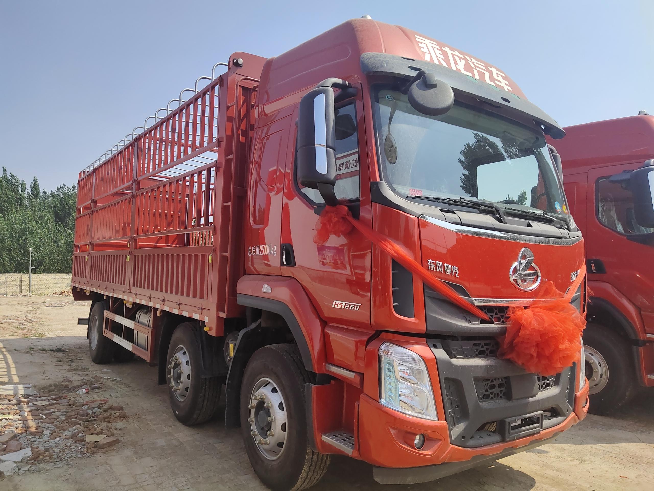 东风柳汽 乘龙H5中卡 290马力 6X2 9.7米厢式载货车(国六)(LZ5252XXYH5CC1)口碑