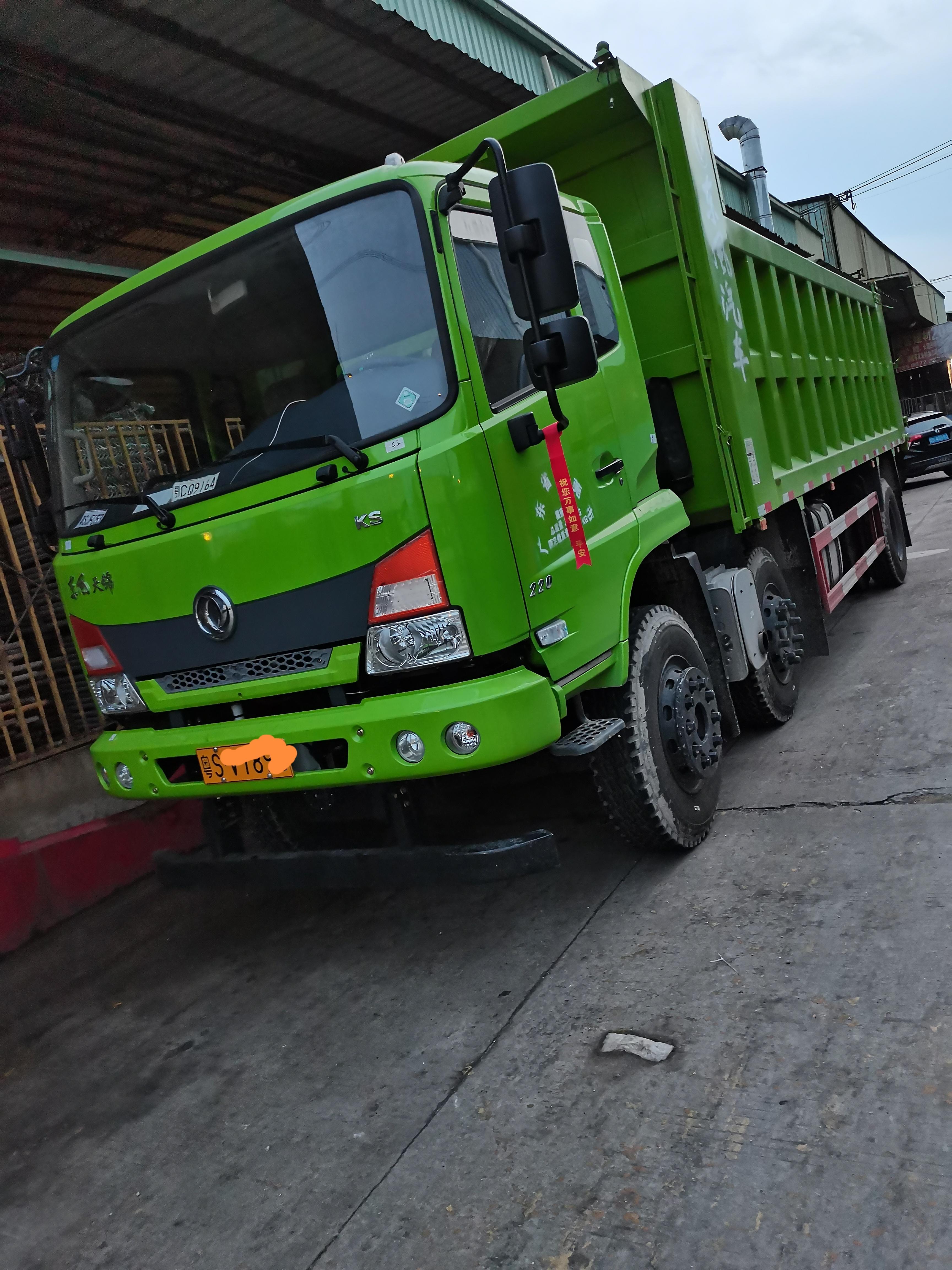 东风商用车 天锦重卡 310马力 8X4 6.5米自卸车(DFH3310BX2)口碑