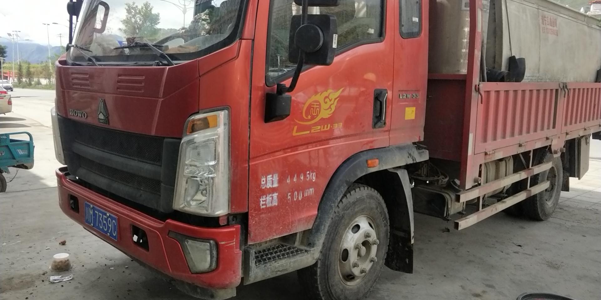 中国重汽HOWO 统帅 110马力 3.65米排半栏板轻卡(ZZ1047C3314E145-2)口碑