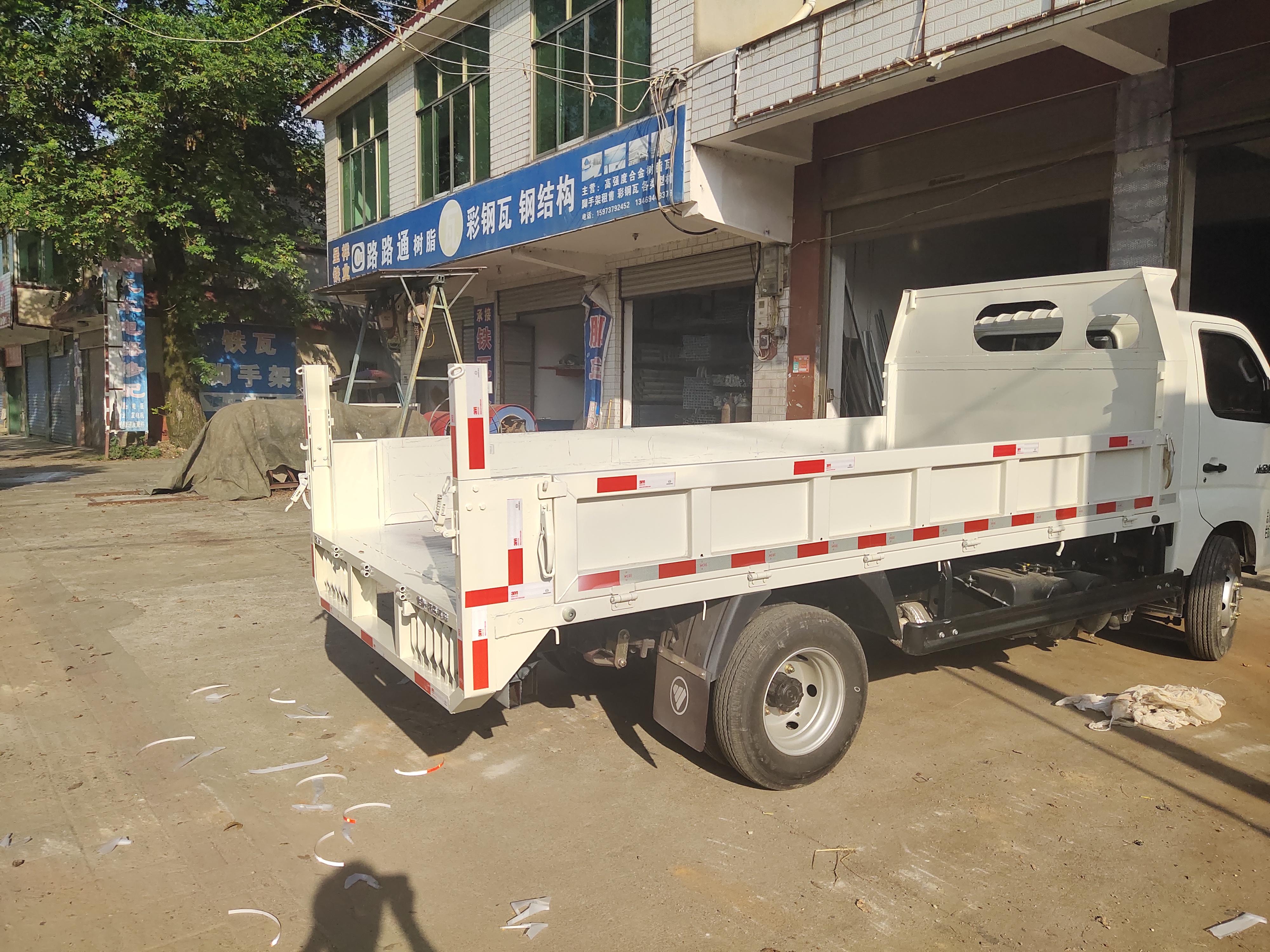 福田瑞沃 小金刚Ⅱ 88马力 4X2 3.3米自卸车(BJ3040D8JBA-AA)口碑