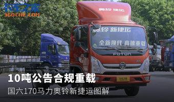 10噸公告合規重載 國六奧鈴新捷運圖解