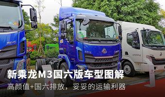 搭载国六动力+高颜值 乘龙M3新车型图解