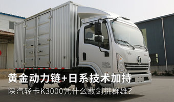 龙8市场又一黑马 陕汽龙8K3000图解