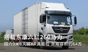 东康六缸260马力 9米8天锦KR容积约64方
